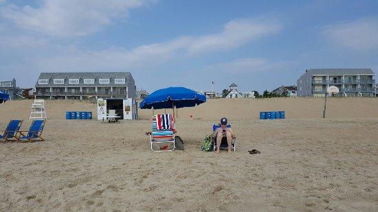 Here's the beach...less than 100 yards from Beach House Dewey!