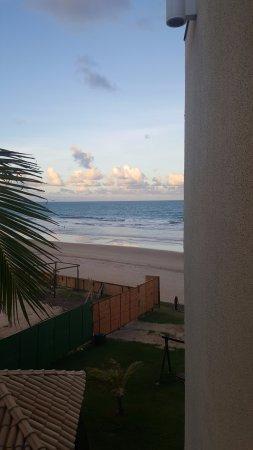 Prodigy Beach Resort Marupiara: Apto 1217 (pedi para troca devido aos tapumes em frente a piscina)