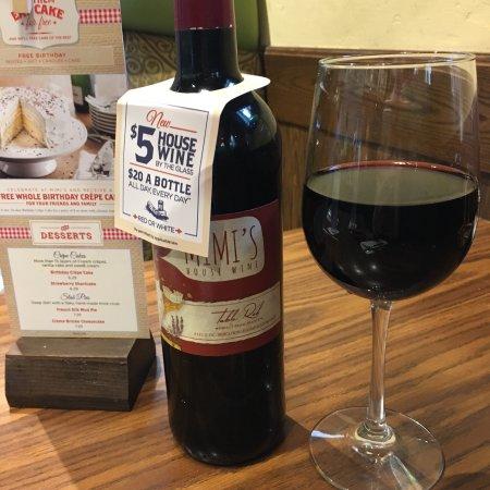Five Dollar House Wine