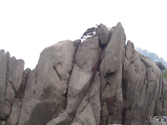 Jiuhua Mountain: un empilement de roches