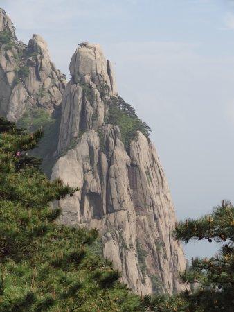 Jiuhua Mountain: des formes particulières