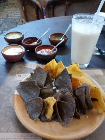 TierrAdentro : Interesting and delicious complementary starter