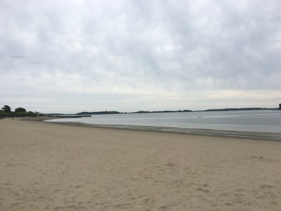 Carson Beach On A Cloudy Day