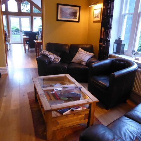 The Old Rectory on the Lake: The sitting room