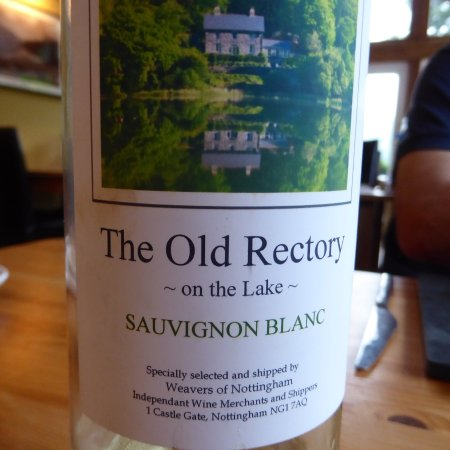 The Old Rectory on the Lake: Excellent wine