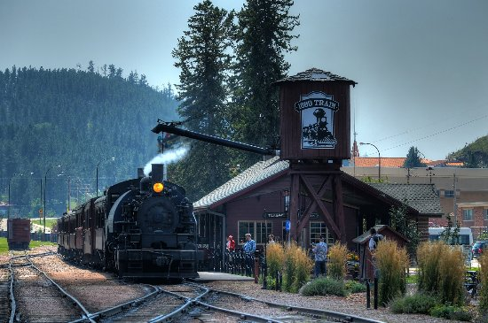 Image result for keystone sd hill city Train ride