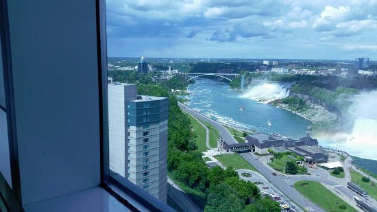 Niagara Falls Marriott on the Falls: VIEW FROM 27TH FLOOR