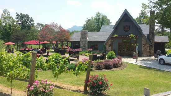 Pilot Mountain, Caroline du Nord : A really nice winery in NC