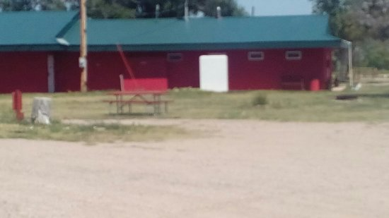 Circle 10 Motel & Campground: A lot of work being done at circle 10 and we have horse corral