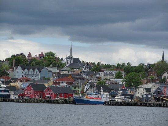 Lunenburg as we pulled from harbor.