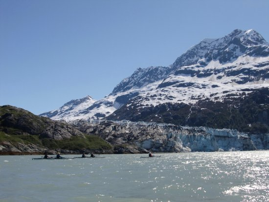 Gustavus, AK: Lamplugh Glacier in the West Arm of GBNP
