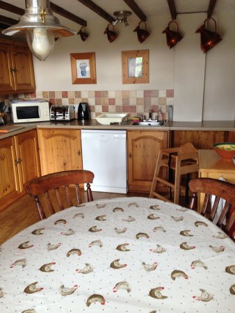 Kumbria, UK: Kitchen