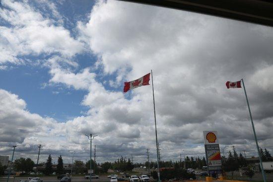 Super 8 Edmonton/West: view from 2nd floor room