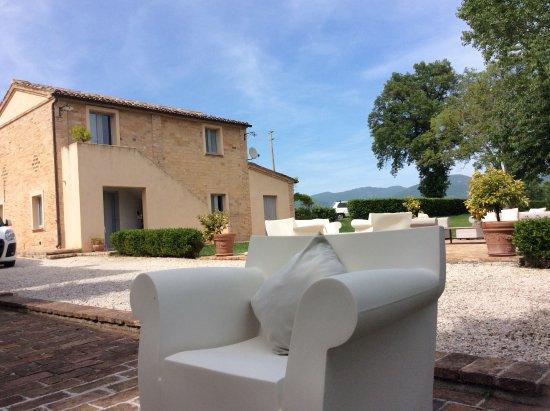 Villa Collepere: Esterno