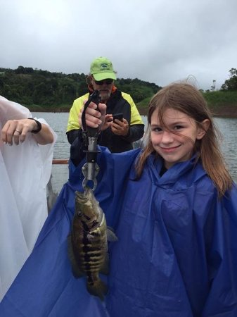 Nuevo Arenal, Kostaryka: She had the biggest catch today