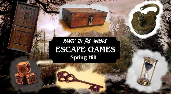 Spring Hill, TN: Panic In The Woods | Escape Games