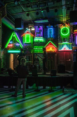 The Colorful Meow Wolf Music Venue