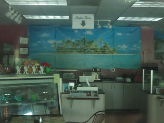 Peek inside after hours - Picture of Chef Liz's Oasis Cafe ...