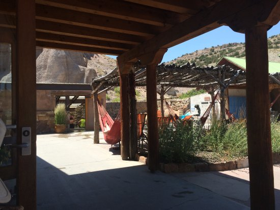 Ojo Caliente, Nouveau-Mexique : Try a hammock!