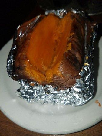 La Grange, IL: Baked sweet potato. YEEEEESSSS!