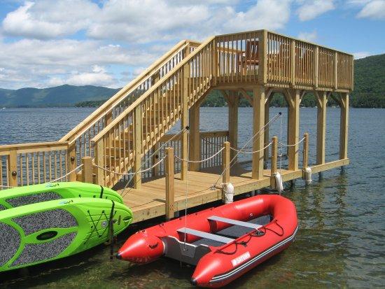 ذا ليك موتل: New two level dock