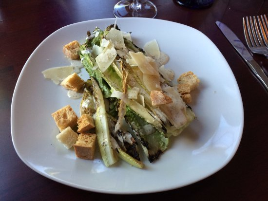 Gypsy Sweethearts: The grilled romaine caesar salad