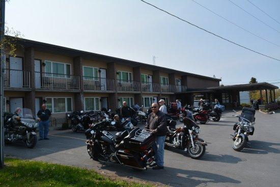 Bonnie Castle Resort: Biker Friendly