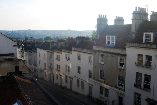 Hill House: Street view from room on 2nd floor