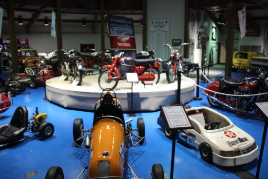 Talladega, AL: International Motorsports Hall of Fame - Mini's and Motorcycles