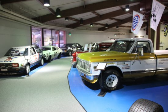 Talladega, Алабама: International Motorsports Hall of Fame - Trucks and compacts