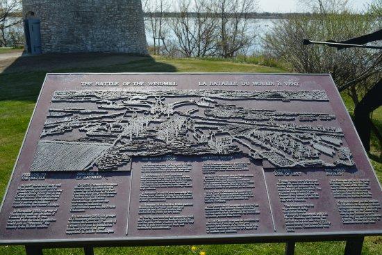 Prescott, Kanada: e of the Windmills Historic Site