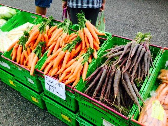 Invercargill, Nueva Zelanda: Sweet to eat Carrots & Parsnips