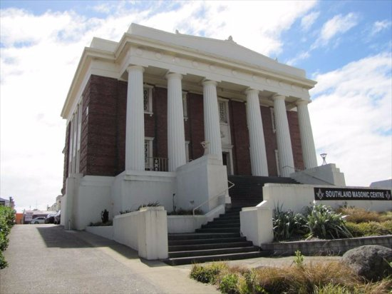 This magnificent building is the venue for the Southern Farmers Market in Invercargill.