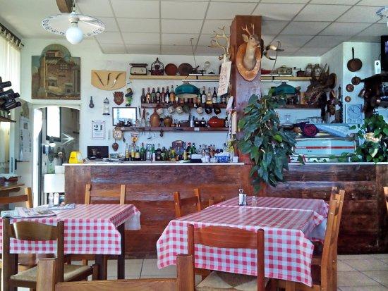 Bagnara di Romagna, Itália: La sala pranzo.