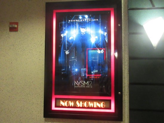 Movie Poster for Now You See Me: The Second Act; Ironwood 8 Cinemas, Minden, NV