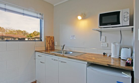 Warkworth, Nueva Zelanda: Kitchenette