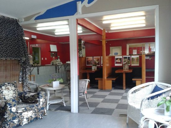 Mangaweka, Nouvelle-Zélande : Relaxed place to enjoy the best coffee in town