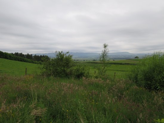 Thornhill, UK: Landscape from the house