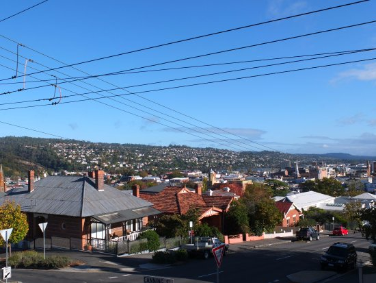 Hillview House: view from the house