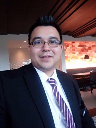 Zurzach, Schweiz: Ricardo Rieche, Gastgeber im Restaurant und der EM-Lounge