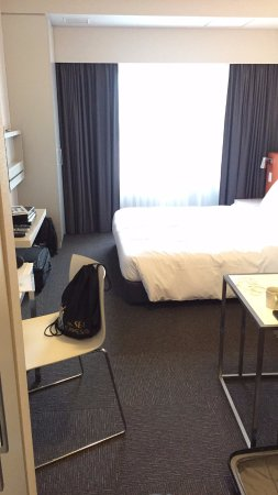 Citadines Shinjuku Tokyo: Room was comfortable though a little tight