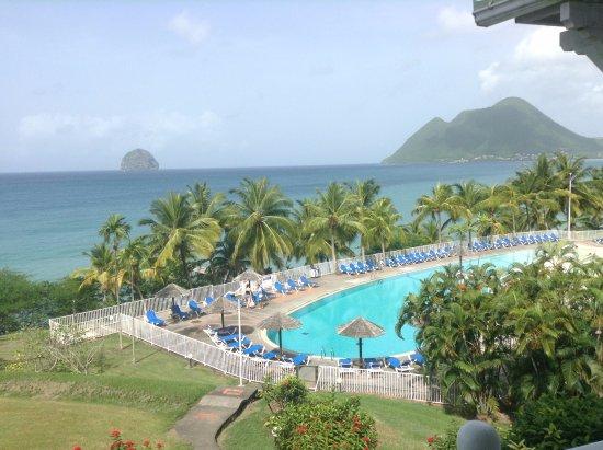 Residence Marine Hotel Diamant: vue depuis la chambre
