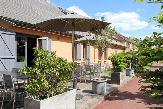 BEST WESTERN The Hotel Versailles: La terrasse