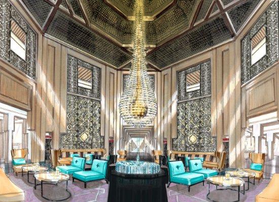 Movenpick Hotel Mansour Eddahbi Marrakech: Lobby Area, Mövenpick Mansour Eddahbi Marrakech