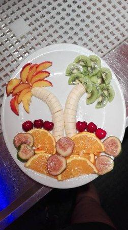 Galika: Piatto di frutta