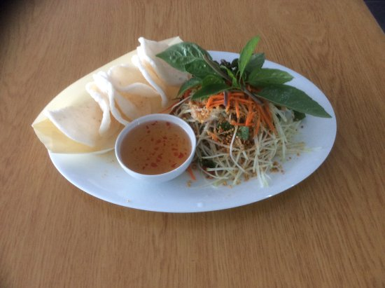 Mermaid Waters, ออสเตรเลีย: Green Papaya Salad