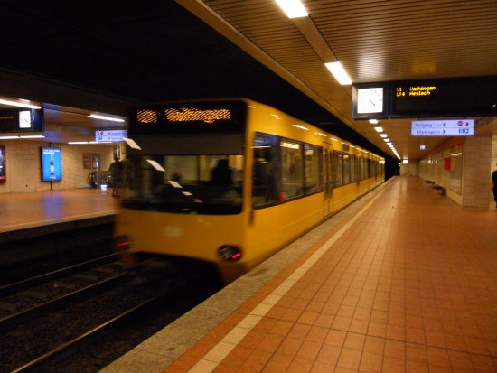 Zahnradbahn: Underground