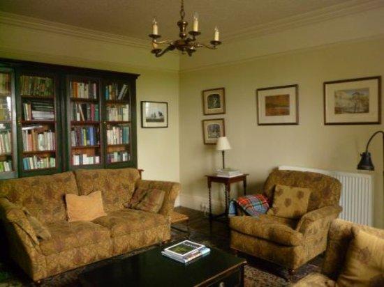 Dunsyre, UK: Sitting room