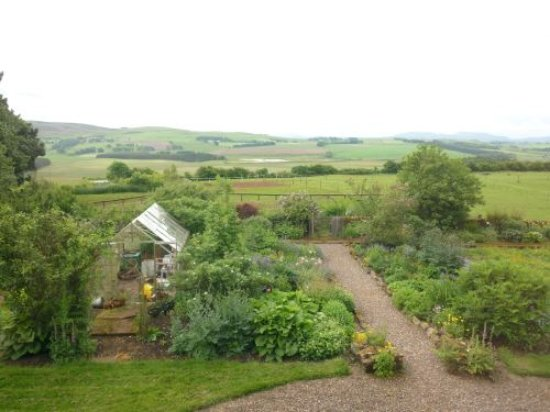 Dunsyre, UK: View from bedrooms