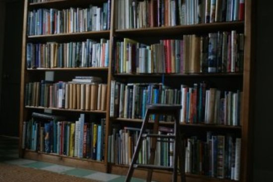 Dunsyre, UK: Book room